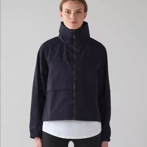 Lululemon effortless jacket navy size 8